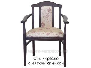 стул-кресло с мягкой спинкой
