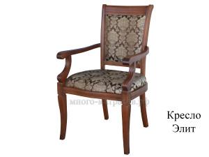 кресло элит светлая вишня