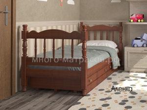 кровать аленка с ящиками