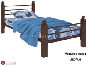 Кровать Милана мини ЛюксПлюс (кор)