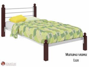 Кровать Милана мини Люкс (бел)