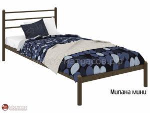 Кровать Милана мини (мед