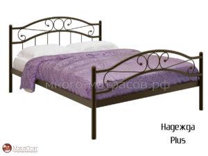 Кровать Надежда плюс (мед)
