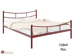 Кровать София Плюс (красн)