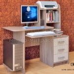 компьютерный стол ск-8 ясень темный - светл