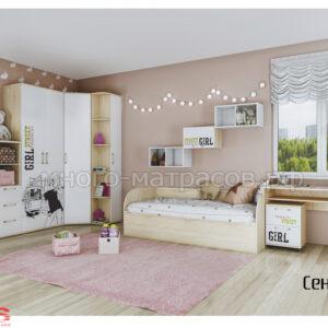детская комната сенди, компоновка 2