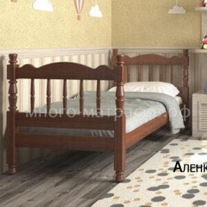 кровать аленка орех