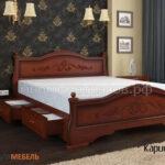 кровать карина-1 с ящиками