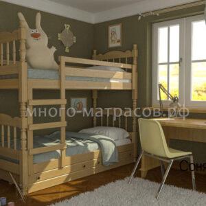кровать соня с ящиками