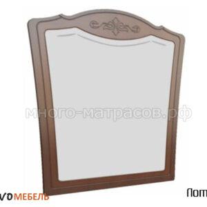 Зеркало настенное Лотос (орех)
