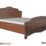 кровать лотос орех