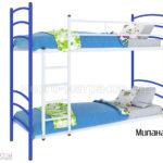 Кровать милана дуо (синяя)