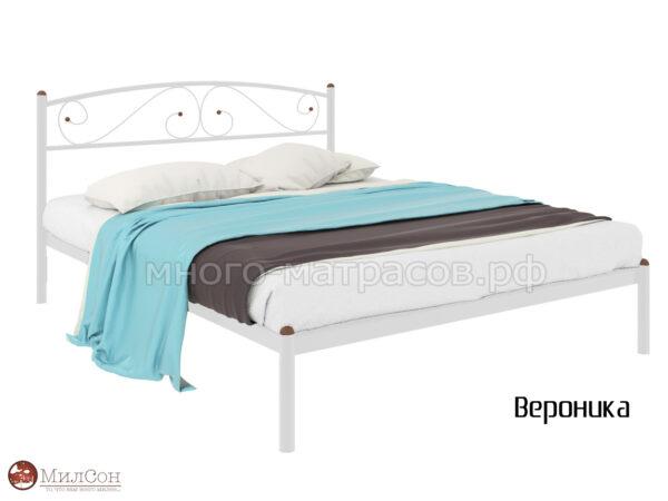 Кровать Вероника бел