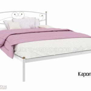 Кровать Каролина (бел)
