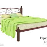Кровать Каролина Lux (крас)