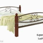 Кровать Каролина LuxPlus (мед)