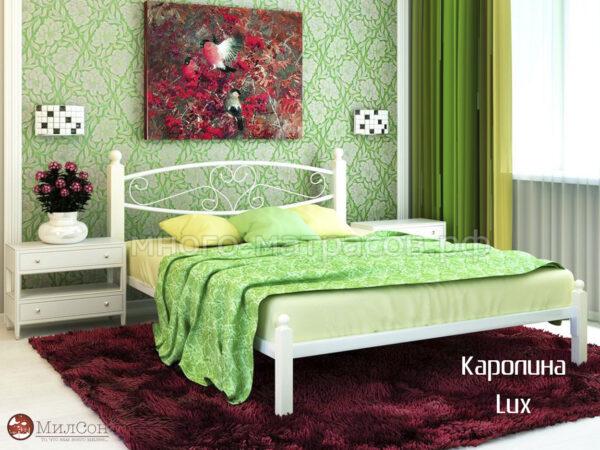 Кровать каролина люкс