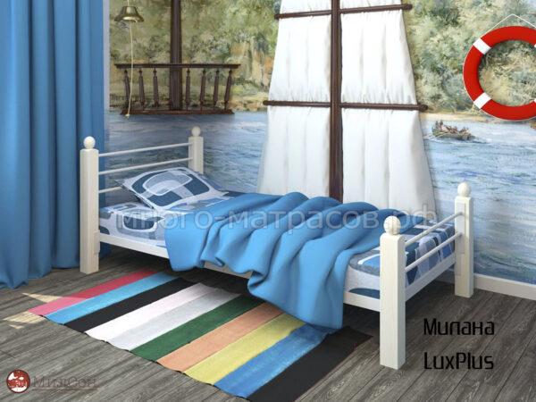 Кровать милана люкс плюс односпальная