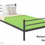 Кровать Милана мини Плюс (черн)