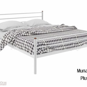 Кровать Милана плюс (бел)