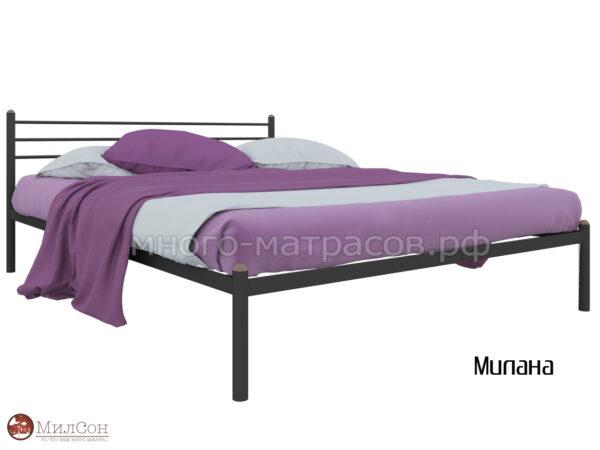 Кровать Милана (чер)