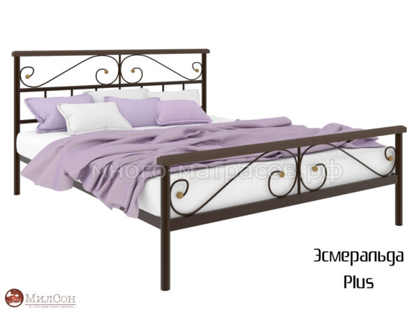 Кровать Эсмеральда Плюс (кор)