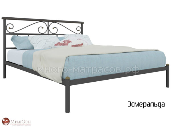 Кровать Эсмеральда (черн)