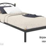 кровать вероника мини (черн)