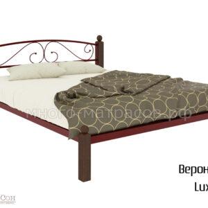 Кровать вероника Lux (красн)