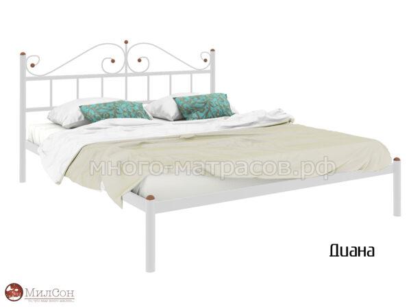 Кровать Диана (бел)