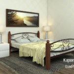 кровать каролина люкс плюс