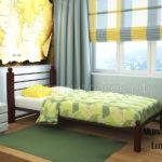 кровать милана люкс односпальная