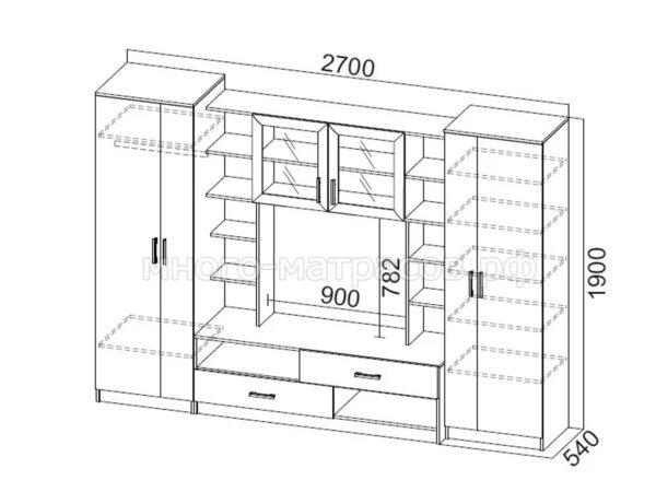 гостиная №2 схема