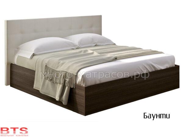 Кровать Баунти венге