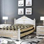 Кровать Александра белая