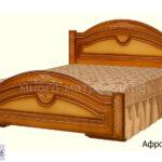 кровать афродита орех