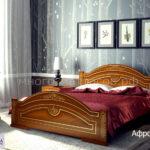 кровать афродита орех, золото