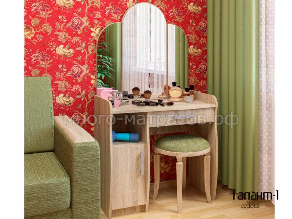 туалетный столик галант-1 сонома