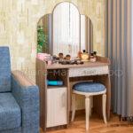 туалетный столик галант-1 ясень иемн - светл