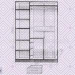 шкаф 3-х