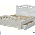 кровать нимфа с ящиками