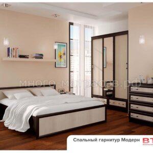 Спальный гарнитур Модерн, компоновка 1