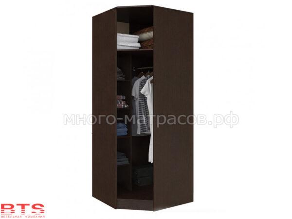 шкаф угловой сакура открытый