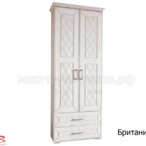шкаф 2-х створ британика