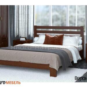 Кровать Вероника (Браво) орех