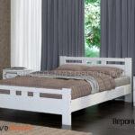 кровать вероника-2 дуб белый