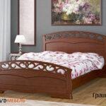 кровать грация-1 орех
