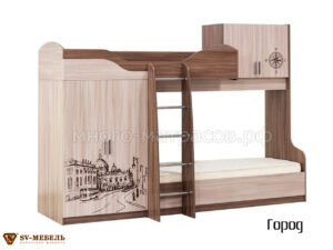 кровать двухъярусня город