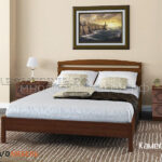 кровать камелия-1 орех