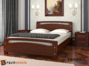 кровать камелия-2 орех